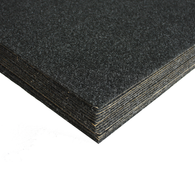 "Charcoal - Peel ""N"" Stick Carpet Tile"