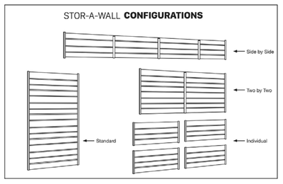 Stor-A-Wall Configurations - Ace of Space NZ