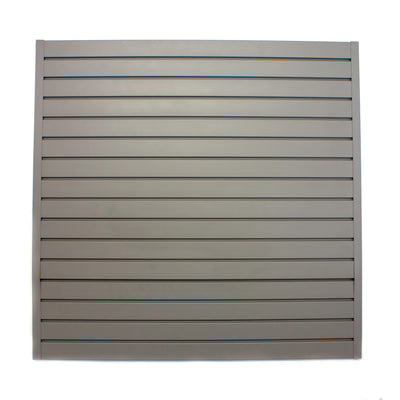 Stor-A-Wall Grey Slatwall Panel - Ace of Space NZ