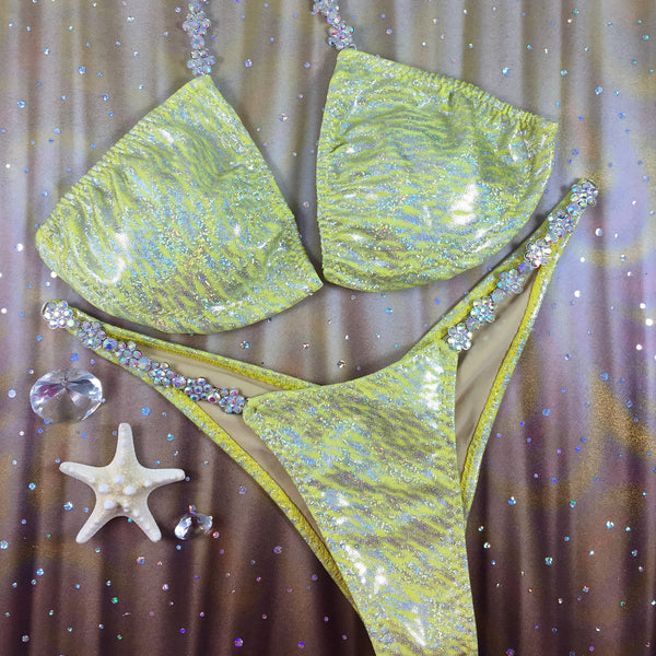 Yellow 3 Medium Top/BRAZILIAN Cheeky