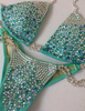 Custom DeLUXE Diamond Princess(Choose any color swatch/fabric)Competition Bikini