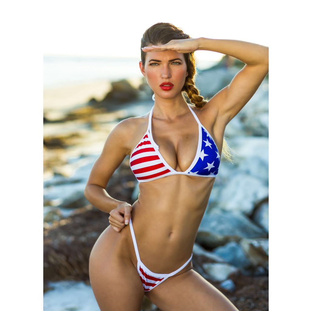 Custom Bikini Freedom Bliss (4th of July)***(SUIT SOLD PER PIECE OR SET, price varies)