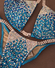 Quick View Competition Bikinis Turquoise DeLUXE Diamond Princess
