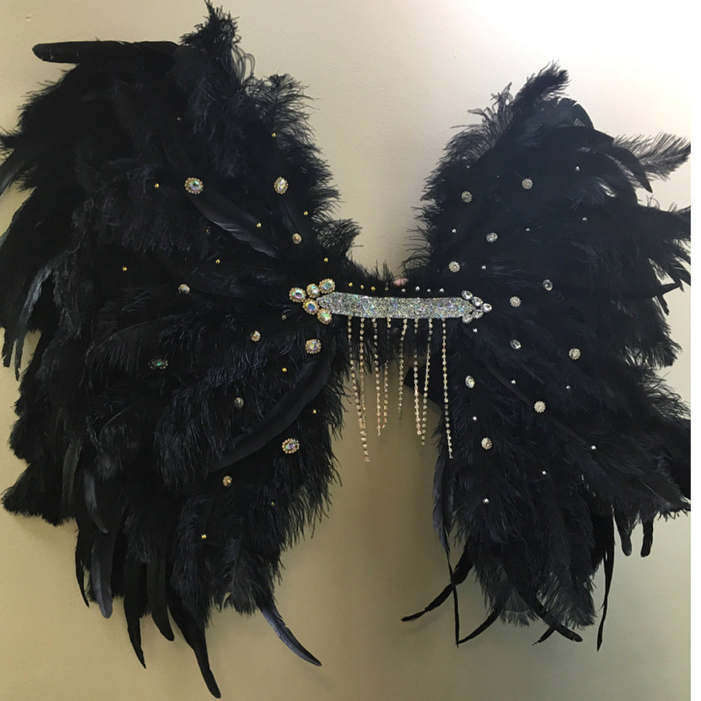 Theme wear Wings WITH EMBELLISHMENT (mid size)