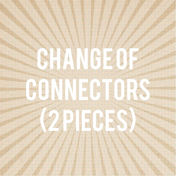 Change out Old Connectors fee $45-$75