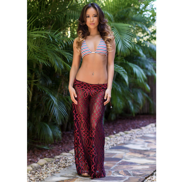 Swirl Lace CoverUp Pants (see all color options)32