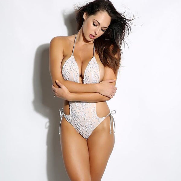 Custom Bikini Hope One Piece (Wedding/Bride/Honeymoon)