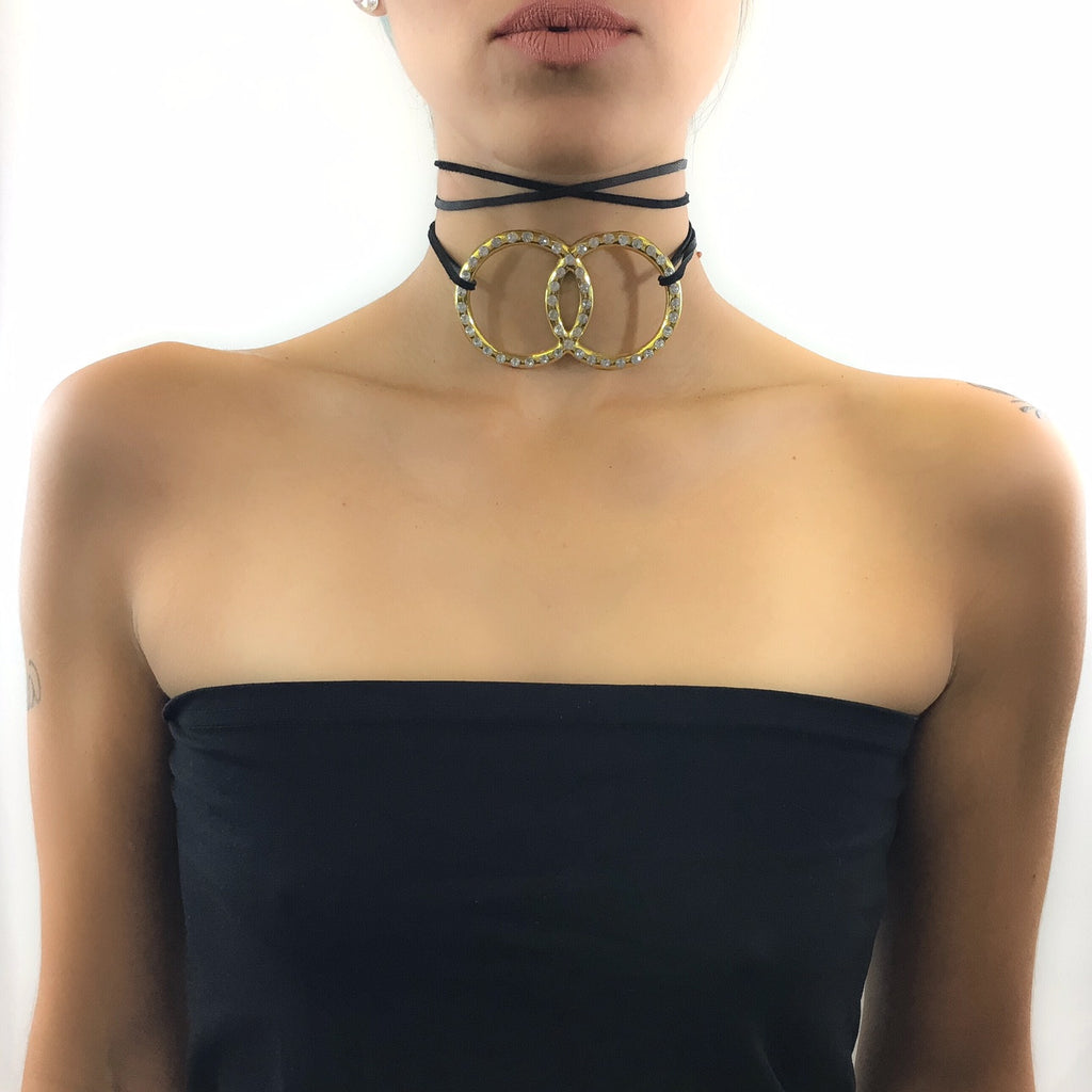 Double The Trouble Choker