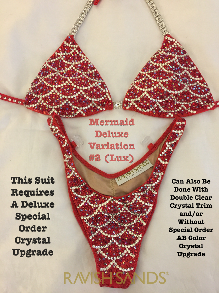 MERMAID DELUXE Figure Competition Suit 625+