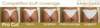 Extravagant Glam Competition Bikinis Custom: mixture of solids and ab Hotfix exposed fabric trim
