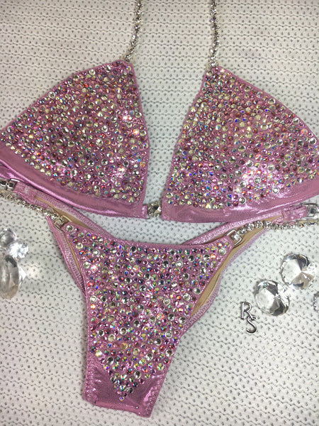 Quick View Competition Bikinis Pink Bubbles Deluxe