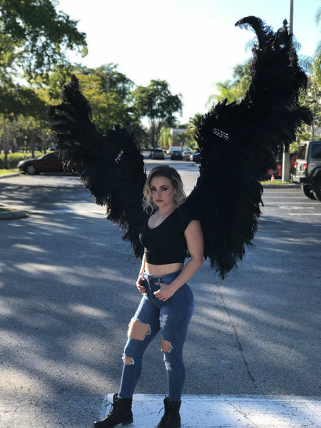 Large Black Theme wear Wings (large size)