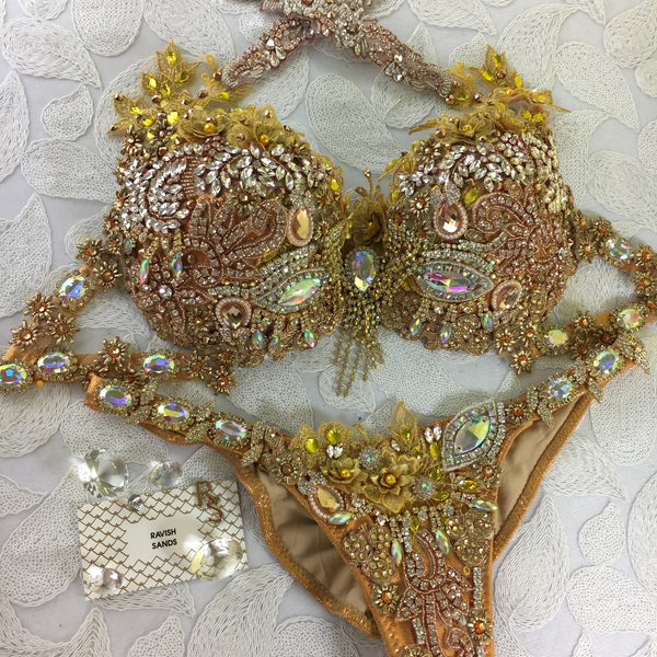 Custom Golden Kiss Themewear bikini  $849