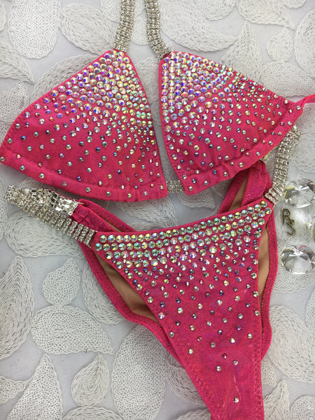 Quick View Competition Bikinis Coral Glam Gal