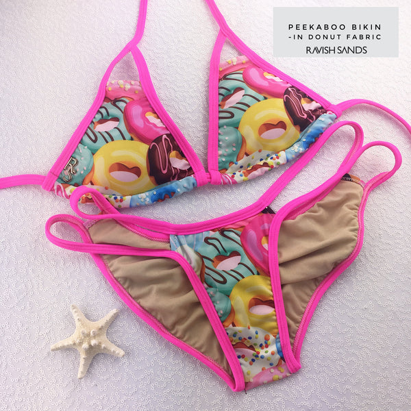 Custom Made to Order Donut/Donuts Bikini/Doughnut