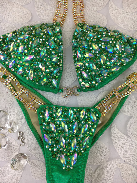 Quick View Competition Bikinis Green