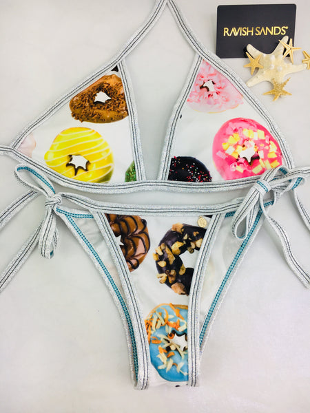 Custom Ravish Tie String bikini Donut (SUIT SOLD PER PIECE OR SET, price varies) 2019