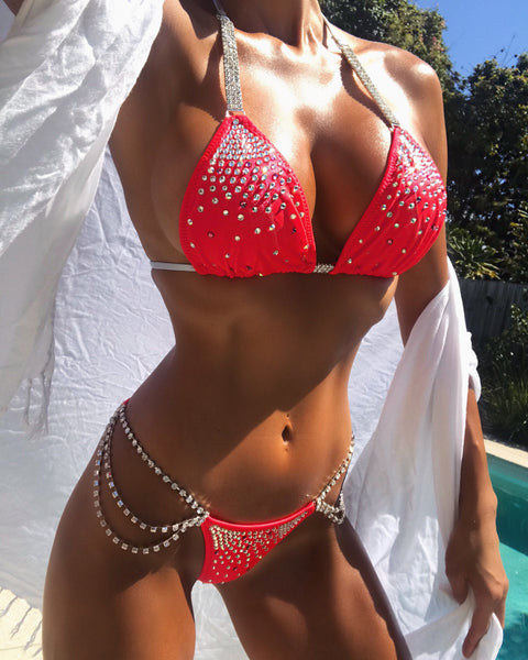 Custom Diamond Princess As seen on Abby Competition Bikini
