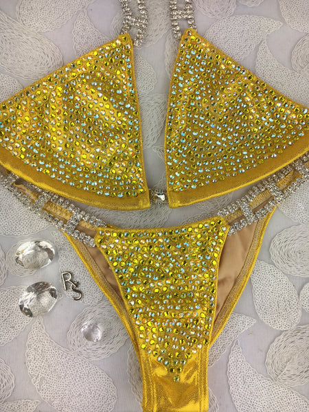 Quick View Competition Bikinis Sunflower Yellow