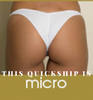 Evergreen Velvet Bikini Micro cheeky Quickship(We size bottoms to your measurements)