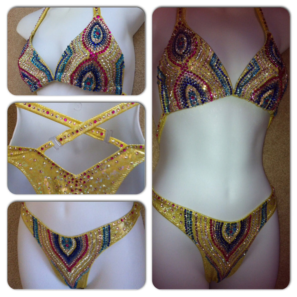 Bali Deluxe Figure Competition Suit - $675+