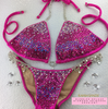 Quick View Competition Bikinis Pink Bubbles Diamond Princess Gradient Deluxe