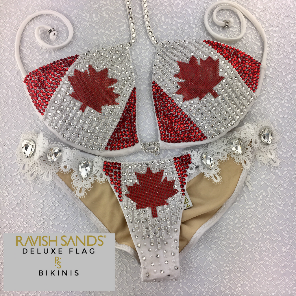 Quick View Competition Bikinis Canadian FLAG