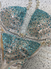 Quick View Competition Bikinis Silver/Teal Bubbles Diamond Princess Elite