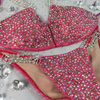 Quick View Competition Bikinis Cerise Coral Confetti Bliss