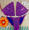 Quick View Competition Bikinis Mermaid Cranberry Bombshell Bling Luxe