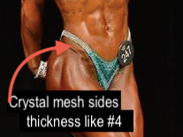 Crystal Mesh trim (Figure)