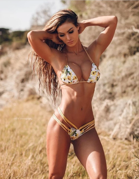 Custom Sunflower Multistring Bikini ***(SUIT SOLD PER PIECE OR SET, price varies)