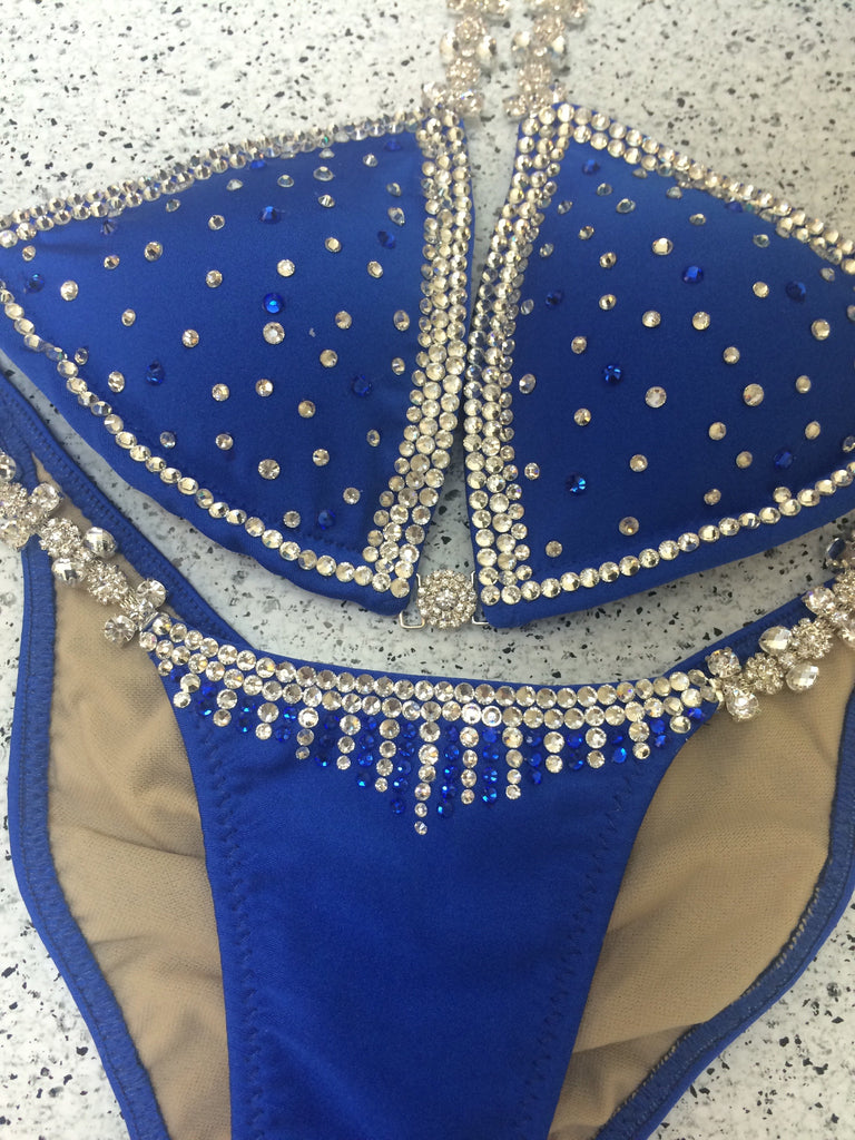 Custom Starlight Princess (Choose any color swatch/fabric)Competition Bikini