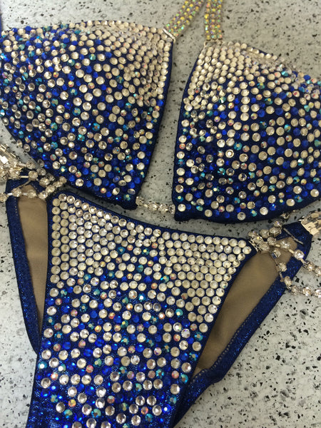 Quick View Competition Bikinis Blue DeLUXE Diamond Princess