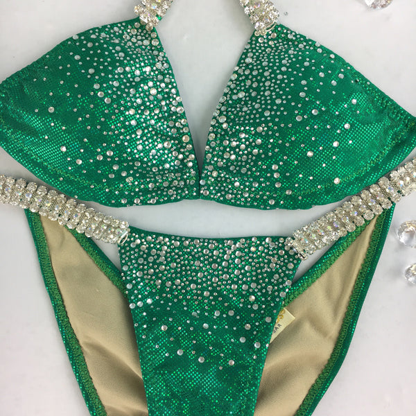 Deal of the Month $197.98(FINAL CLEARANCE) Emerald S.G. Midcoverage Cheeky Quick Ship