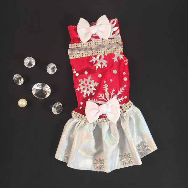 Holiday Evening Deluxe Pet dress $58.98
