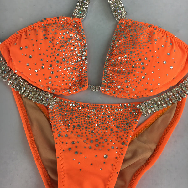 DEAL of the MONTH $197.98(FINAL CLEARANCE) Matte Orange Midcoverage Cheeky Quick Ship