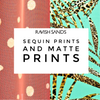 Fabric Swatches Matte PRINTS Part 3 of 4