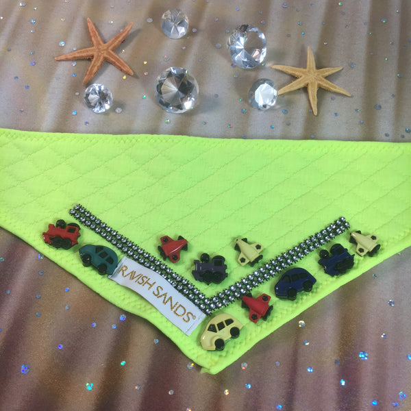 Ravish Pet Motor Scarf (neon yellow) $28.99