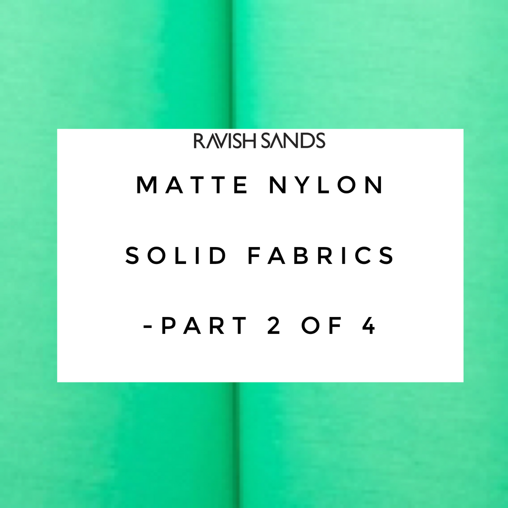 Fabric Swatches  Solid Matte Fabric Part 2 of 4