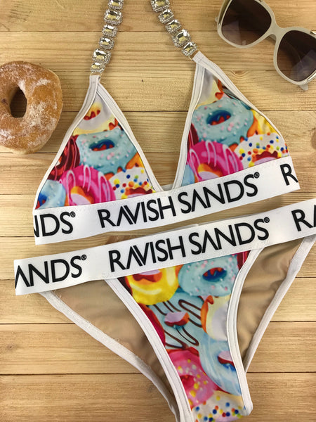 Custom Donut Ravish Sands Exclusive Monogram (sunglasses and real donut sold separately lol)***(SUIT SOLD PER PIECE OR SET, price varies)