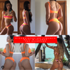 Nude Black Floral Plunge neck 4:1 Flip It Reversible Highwaisted Bikini Brazilian(NO Scrunch butt) Nicole Thorne 2019