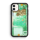 10 Million Colones Sloth iPhone 11 black case