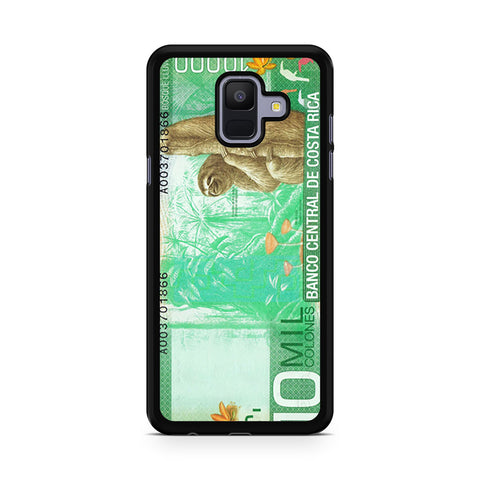 10 Million Colones Sloth Samsung Galaxy A6 2018 case
