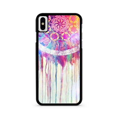 Colorful Dream Catchers iPhone X case
