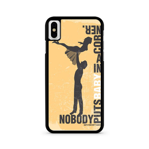 Dirty Dancing Movie iPhone X case