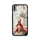 Little Red Riding Hood iPhone X case