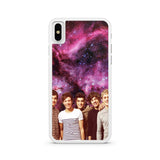 One Direction Galaxy Nebula iPhone X case