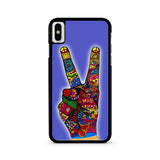 Peace No War Obey iPhone X case