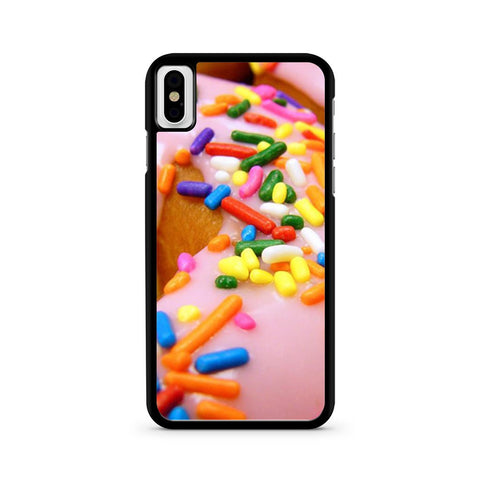 Sprinkle Donut iPhone X case